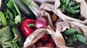 Image of a box of salad