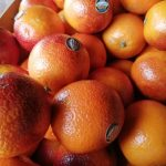 Box of blood oranges